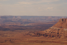 Canyonlands NP, Needless Overlook