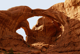 Arches NP, Double Arch