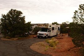 Nos emplacements au Dead Horse Point Campground
