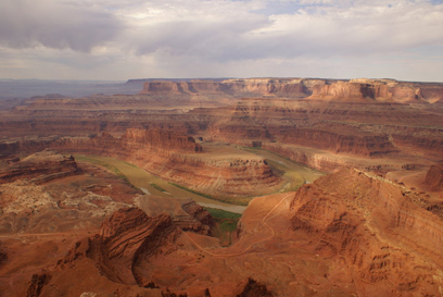 Dead Horse Point SP, une boucle du Colorado